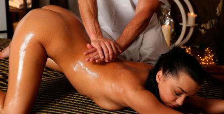 Эротический массаж для жены